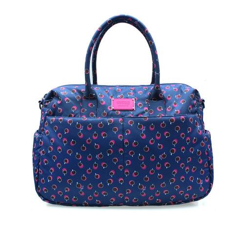 Boston Bag - Dotty Apple - Pink