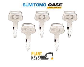 Case & Sumitomo S450 (5 Keys)