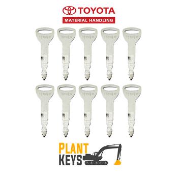 Toyota Forklift (10 Keys)