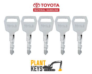 Toyota Forklift (5 Keys) Old Gen