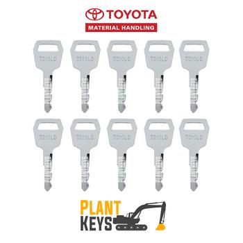 Toyota Forklift (10 Keys) Old Gen