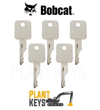 Bobcat & Case Skidsteer (5 Keys)