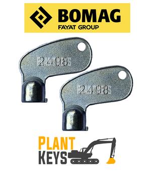 Bomag Kobelco 2498 (2 Keys)
