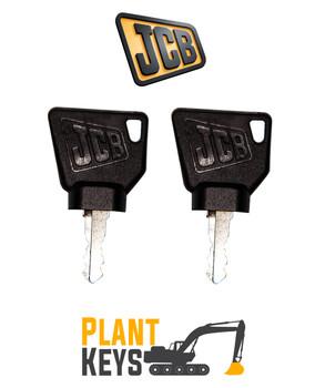JCB 3CX & Bomag Roller (2 Keys)