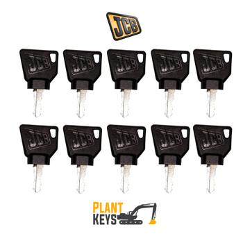 JCB 3CX & Bomag Roller (10 Keys)