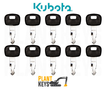Kubota 459A (10 Keys)