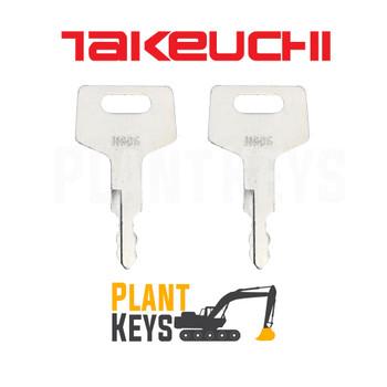 Takeuchi H806 (2 Keys)