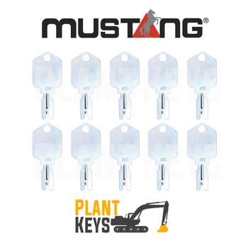 Mustang 166 (10 Keys)