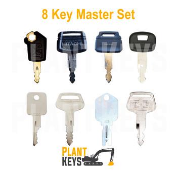 8 Key Master Set