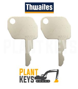 Thwaites 92274 (2 Keys)
