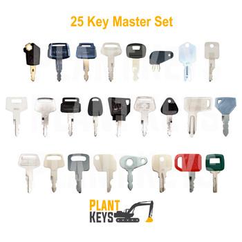 25 Key Master Set