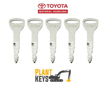 Toyota Forklift (5 Keys)