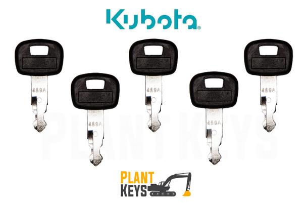 Kubota 459A (5 Keys)
