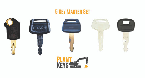 5 Key Mini Set