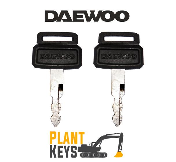 Daewoo D300 (2 Keys)