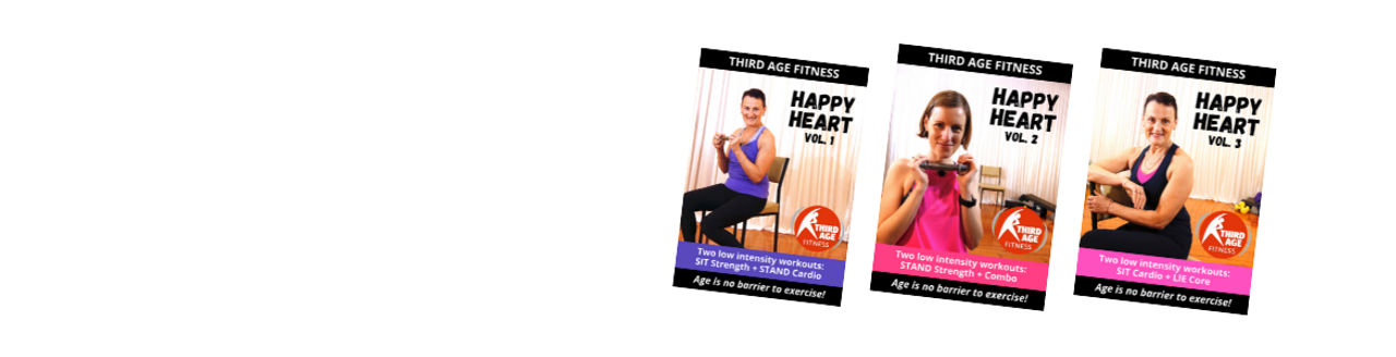 Happy Heart workout DVDs