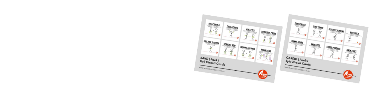 Circuit Cards for fitness instructors