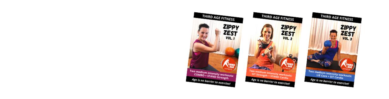 Zippy Zest workout DVDs