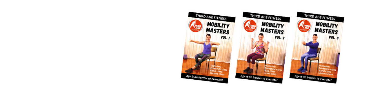 Mobility Masters gentle exercise DVDs