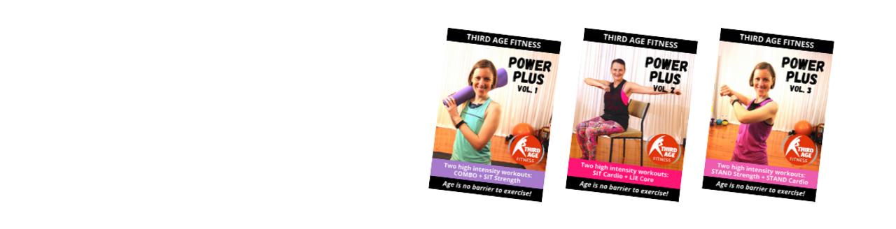 Power Plus workout DVDs