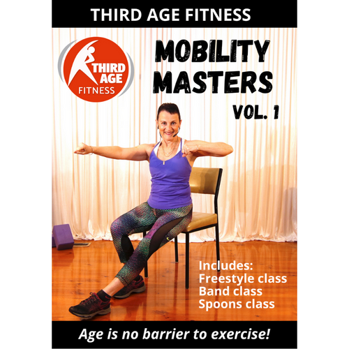 DVD front cover - Mobility Masters Vol. 1
