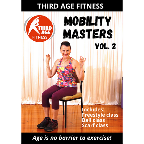 DVD front cover - Mobility Masters Vol. 2