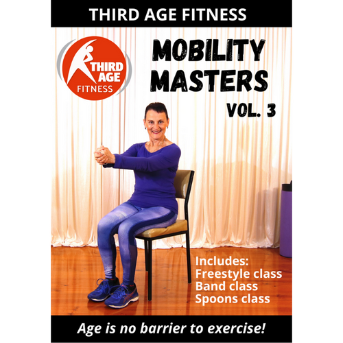 DVD front cover - Mobility Masters Vol. 3