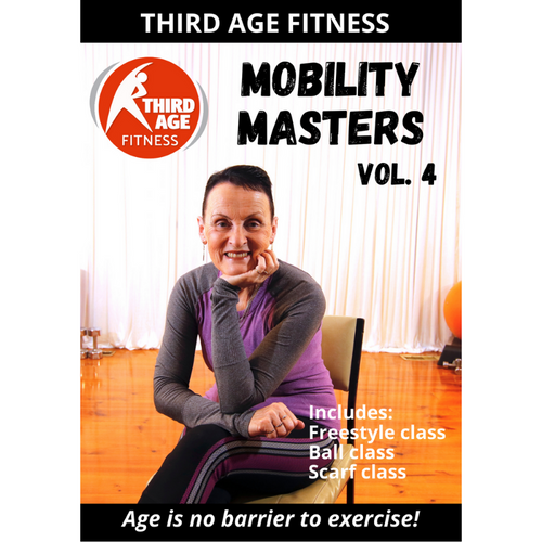 DVD front cover - Mobility Masters Vol. 4