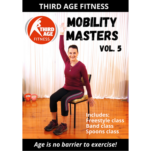 DVD front cover - Mobility Masters Vol. 5