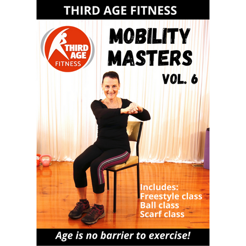 DVD front cover - Mobility Masters Vol. 6