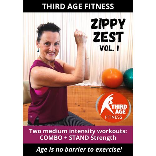 Zippy Zest Vol. 1 - DVD front cover