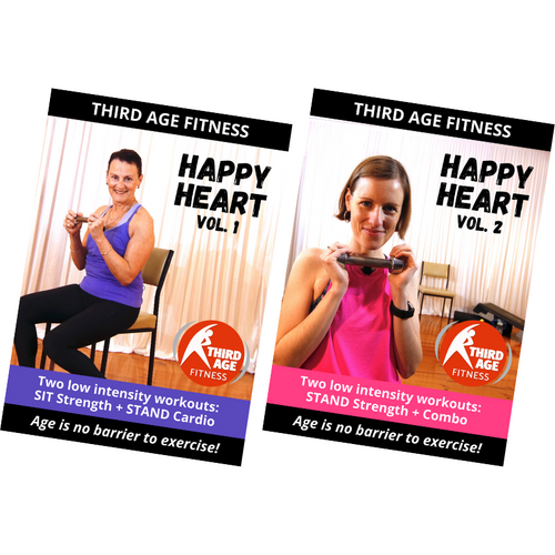 Happy Heart Combo #1 - DVD front covers