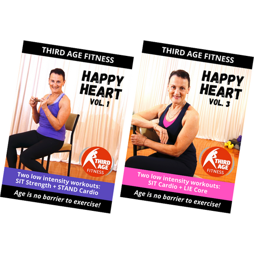 Happy Heart Combo #3 - DVD front covers