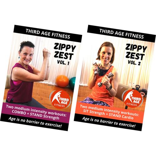 Zippy Zest Combo #1 - DVD front covers