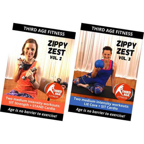 Zippy Zest Combo #2 - DVD front covers