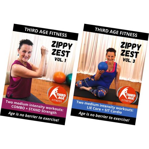Zippy Zest Combo #3 - DVD front covers