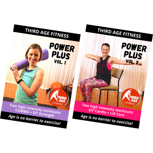 Power Plus Combo #1 - DVD front covers
