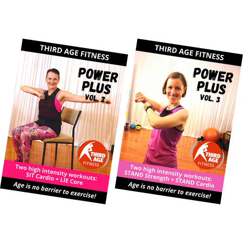 Power Plus Combo #2 - DVD front covers