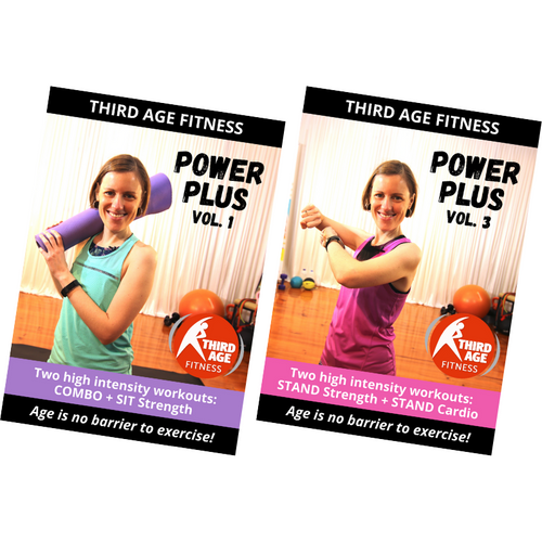 Power Plus Combo #3 - DVD front covers