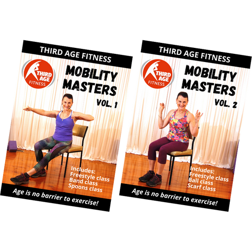 Mobility Masters Combo Pack #1 - DVD front covers