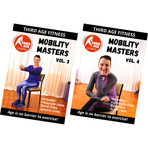 Mobility Masters Combo Pack #2 - DVD front covers
