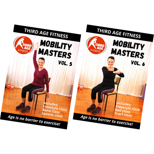 Mobility Masters Combo Back #3 - DVD front covers