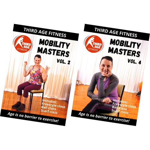 Mobility Masters Ball & Scarf Double Pack #1 - DVD front covers