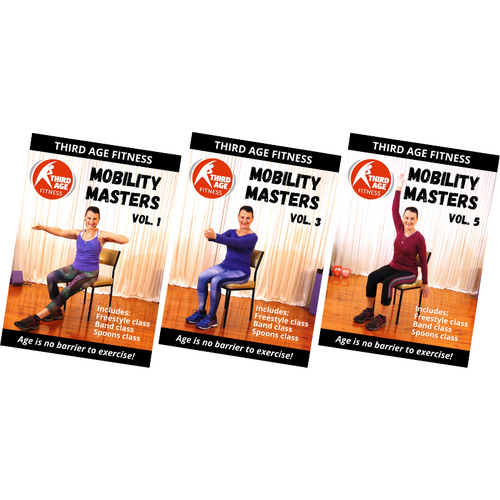 Mobility Masters Band & Spoons Bundle #1 - DVD front covers