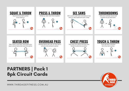 Partners Exercise Circuit Card Pack #1 Summary