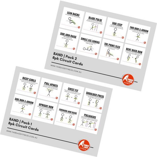 Band Exercise Circuit Card Combo Summary