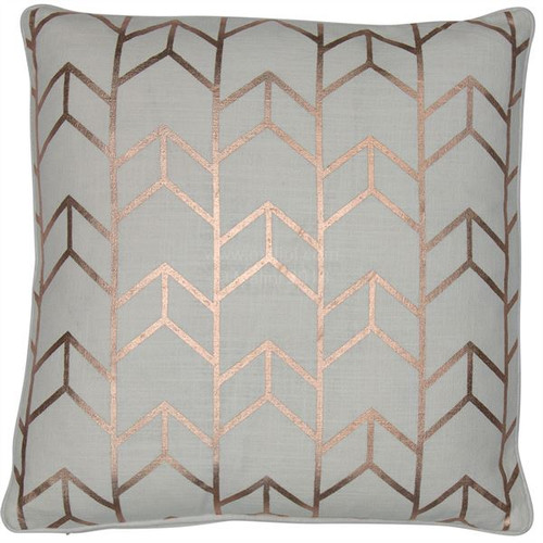 Malini Geo Rosegold Cushion
