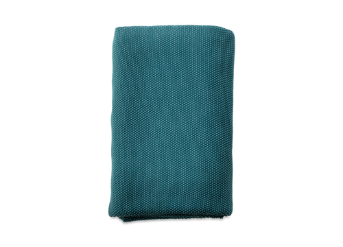 NKUKU MAKANI COTTON THROW - Washed Teal