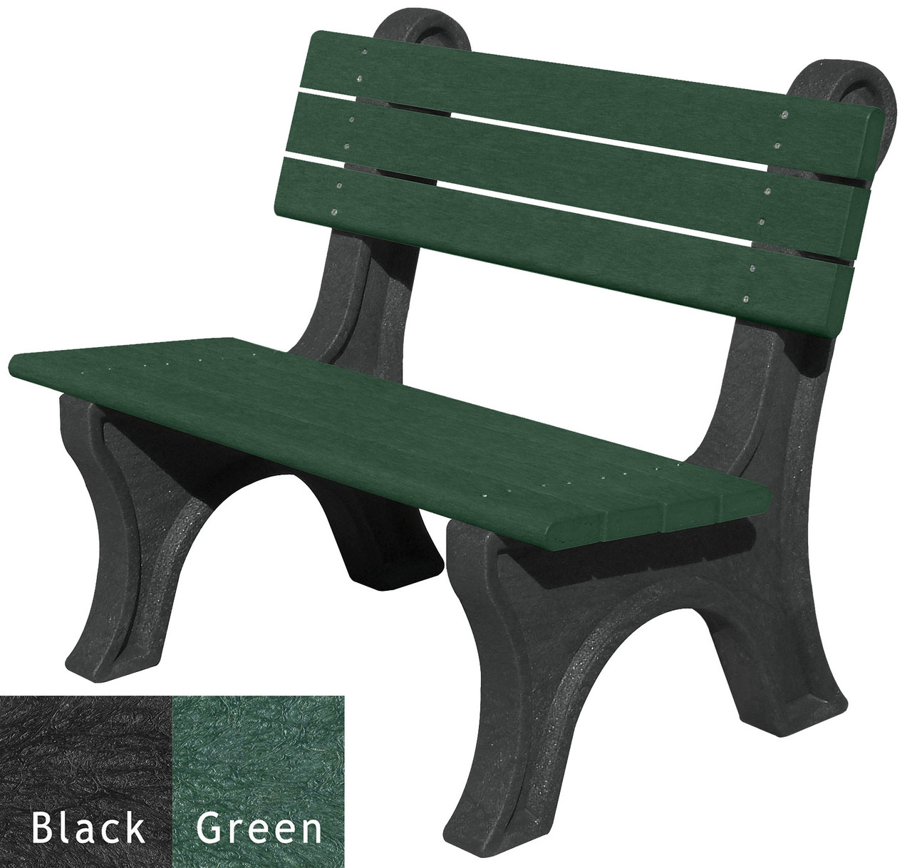 Black and Green