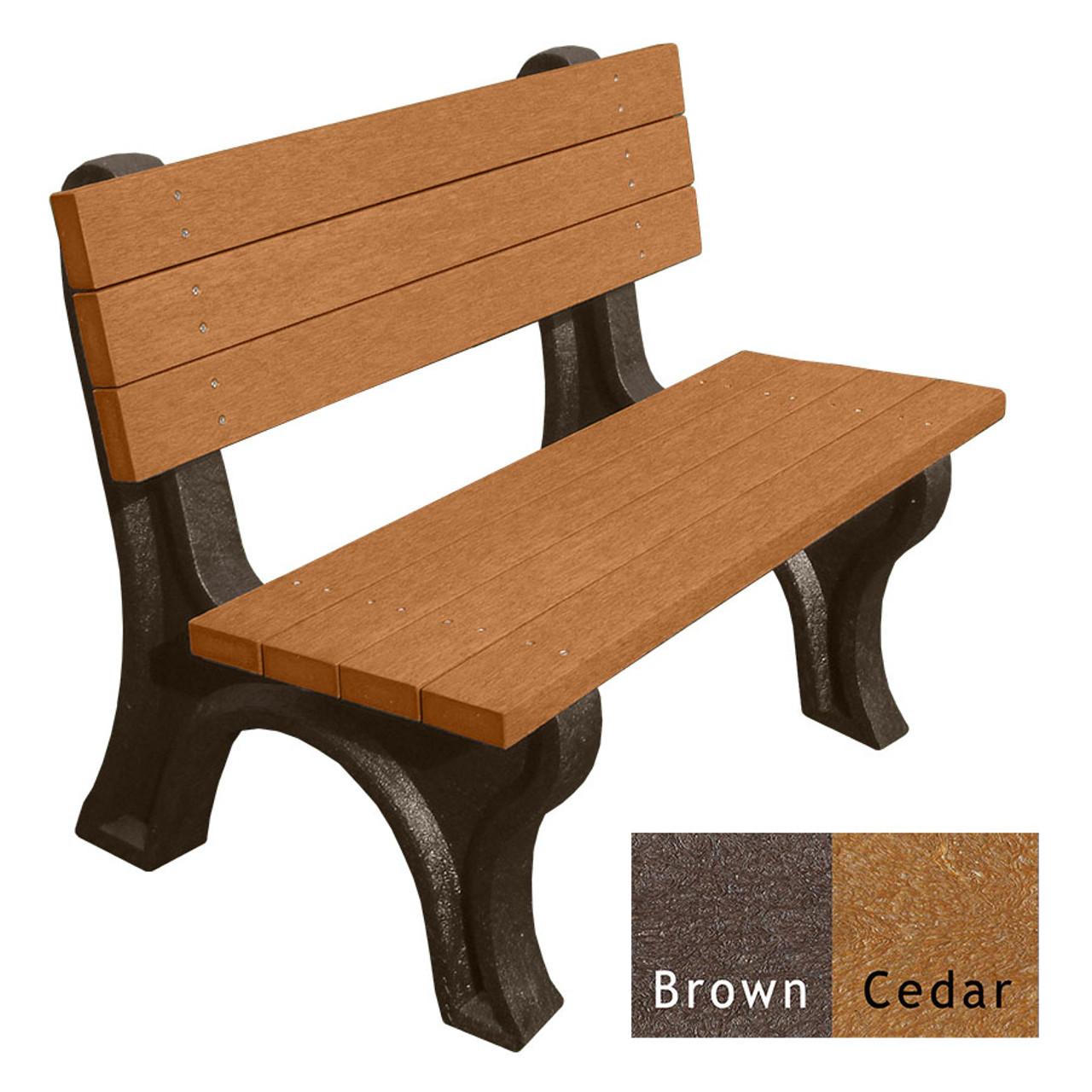 Brown and Cedar